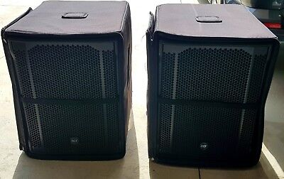 "RCF SUBS 2 x 705-AS MK2 15"" Active/Powered Subwoofers  MADE IN ITALY with covers"