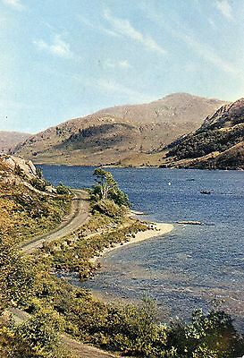 postcard Scotland The road to the Isles by Loch Eilt Invernesh- shire unposted