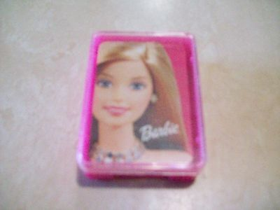 "New 2003 2 1/2"" Barbie Playing Cards United States Playing Card Co."