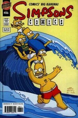 Simpsons Comics #  86 Very Fine (VFN) Bongo Comics MODERN AGE