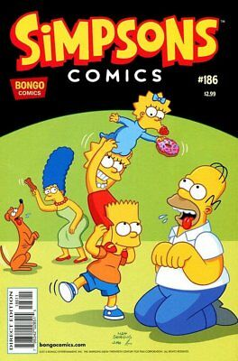 Simpsons Comics # 186 Near Mint (NM) Bongo Comics MODERN AGE