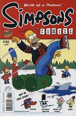 Simpsons Comics # 183 Near Mint (NM) Bongo Comics MODERN AGE