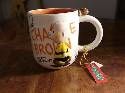Vintage Peanuts / Charlie Brown/ Snoopy / Favorite Blockhead/Rare/NEW/With Tags