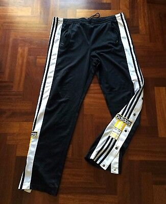 Pantalone Adidas Pants Adibreak Bottom Popper Old School Tracksuit Vintage 1990