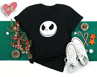 The Nightmare Before Christmas Jack Skellington T-shirts for Halloween gift