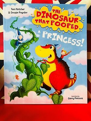 The Dinosaur that Pooped a Princess by Tom Fletcher (Paperback 2018) New Book