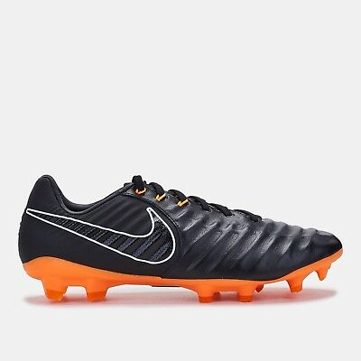 newest 98ac2 1d122 NIKE TIEMPO LEGEND 7 Pro Firm Ground Cleats. Black/Total Orange Colorway.  Size 9