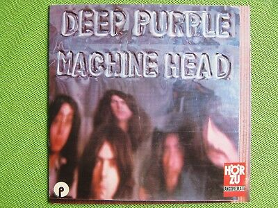 (FOC) LP-VINYL / DEEP PURPLE machine head (Hardrock;UK) HörZu SHZE 344 (1972)