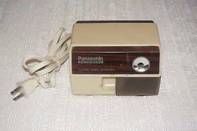 Panasonic Auto-Stop Electric Pencil Sharpener Model: Kp-110 Works Made In Japan
