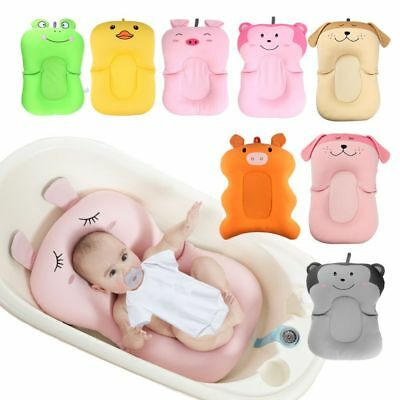 Baby Shower Air Cushion Bed Babies Infant Bath Pad Non-Slip Bathtub Safety Bath