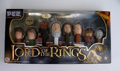 Pez Lord of the Rings Limited Edition Box Ovp USA Version Collector`s Series Set