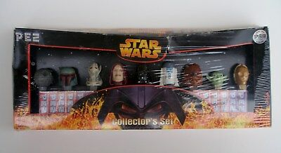 Pez Star Wars Limited Edition Box Ovp USA Version Collector`s Series Set