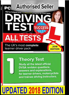SALE! Driving Test Theory Practice 2018 - Instant Access