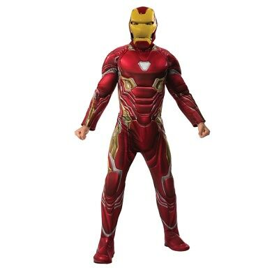 Marvel Avengers Infinity War Deluxe Iron Man Adult Costume