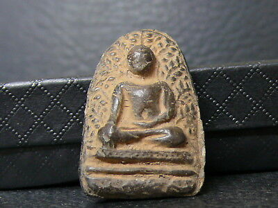 (eV176)  Tibet: Buddhism Very Old relic amulet temple offering