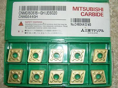 x10 MITSUBISHI CARBIDE INSERTS CNMG 160616-GH UC6020 (NEW OTHER)