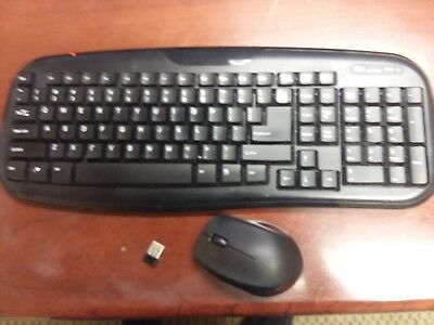 ce193159c87 Onn Wireless Keyboard Mouse Combo w/Nano USB 2.4GHz FREE PRIORITY SHIPPING