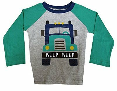 First Impressions Long-Sleeve Beep Beep Graphic-Print T-Shirt, Baby Boys (12 ...