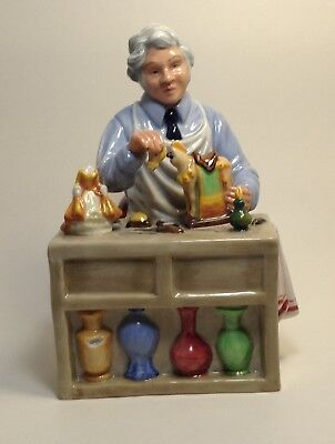 Royal Doulton Figurine -The China Repairer- HN2943-   Excellent Condition