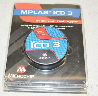 Microchip MPLAB ICD 3 In-Circuit Debugger 1P DV164035 NEW