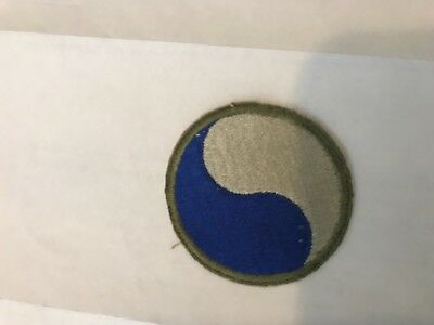 WWII US Army 29th Infantry Patch