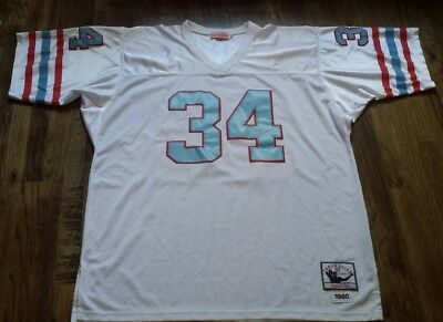 Mitchell   Ness Earl Campbell Throwback Houston Oilers Football Jersey 2fbf0b147