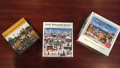 Lot Of 3 Jane Wooster Scott's Various Scenes Of America's Past. (C38)
