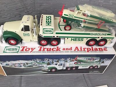 Hess Truck Toy Truck and Airplane 2002 - New in Box