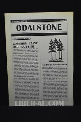 ODALSTONE No. 17 September 1997 [News from the Odinshof]