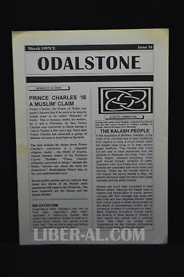ODALSTONE No. 16 March 1997 [News from the Odinshof]