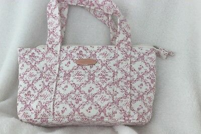 """Longaberger Small Purse Breast Cancer Horizon Never used 10""""x 5"""" x 2"""""""