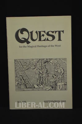 QUEST (for the Magical Heritage of the West) No.103 September 1995