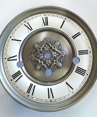 Hermle clock dial  150 mm for 341-340 movement antique  finish
