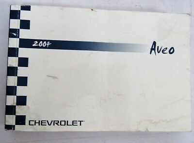 05 2005 chevrolet aveo owners manual 11 70 picclick rh picclick com chevy aveo 2004 owners manual Ford Aveo 2004