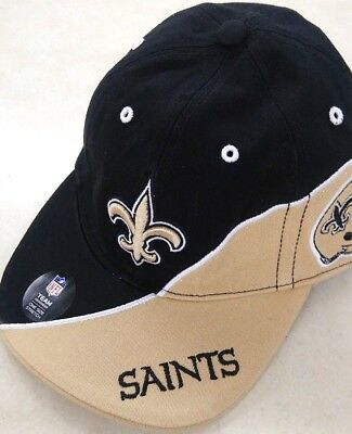 98f4faa9a27eb ... cheap new orleans saints nfl 47 brand slouch black one size stretch fit  hat cap 28