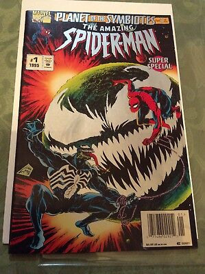 Amazing Spider-man #1 Planet Of The Symbiotes 1995