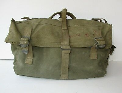 Original Vintage WWII WW2 US Army Combat Field Cargo Pack M-1945 Pouch Bag