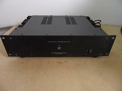 COUNTERPOINT SA12 POWER amplifier hybrid valve/ mosfet amp 100 watts a  channel