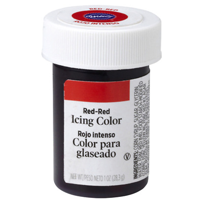 Wilton Icing Colors - Red-Red Concentrated Paste 1 oz. Jar