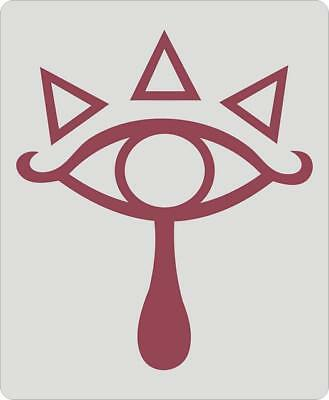 The Legend Of Zelda Eye of Truth Logo Cool Design Gaming Mouse Pad