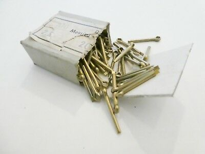 Brass Cotter Pins 100 ps 2,5cm