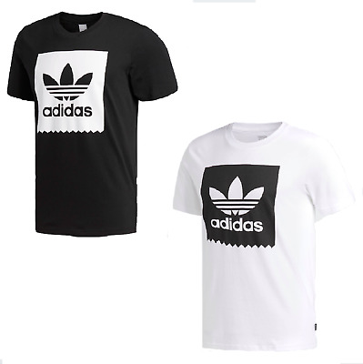 Mens Retro Adidas Original California Cotton Crew Neck T Shirt Trefoil on Sale.
