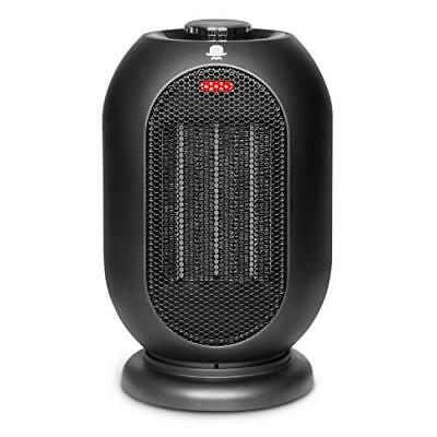 MRMIKKI 1200W/700W Space Heater for Office and Home, PTC Ceramic Portable Desk -