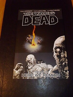 The Walking Dead Graphic Novel Volume 9 Here We Remain -NEW NM
