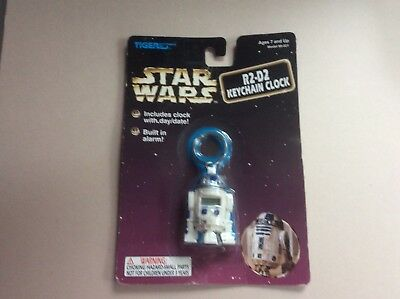 Star Wars R2-D2 Key Chain Clock,1997, Estate Find
