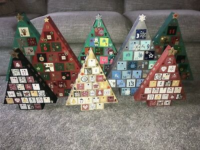 Wooden Mdf Personalised Christmas Advent Calender *~* LAST FEW DAYS TO ORDER *~*