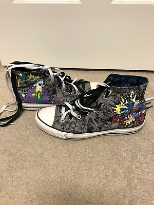 Converse Justice League Men Size 10 Chuck Taylor All Star High Top Shoes