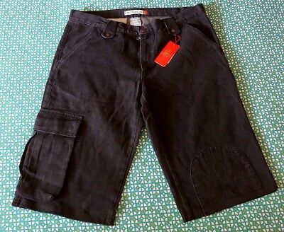 TROUSERS SHORT vintage man CASTELBAJAC made Italy TG.54 circa XL NEW!  RARE