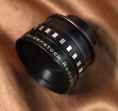 Rodenstock 105mm f5.6 Rodagon Enlarging lens for 6x9 + 39mm mounting ring
