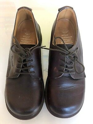 Dr. Martens The Original Brown Unisex Oxfords Made in England US Size 5